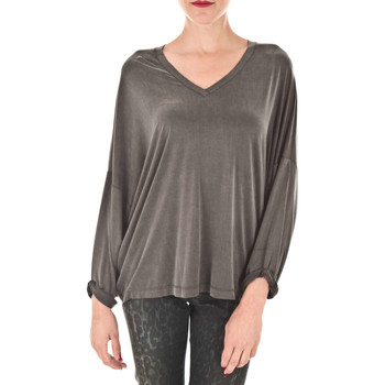 Blouses Diesel top gertrude anthracite