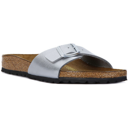 Chaussures Femme Mules Birkenstock MADRID SILVER Argento