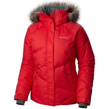 Vêtements Femme Vestes Columbia LAY D DOWN JACKET VESTE SKI F RED CAMELIA