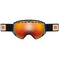 Accessoires Accessoires sport Cairn STRATOS SPX3000IUM NOIR MAT ORANGE MASQUE DE SKI JUNIOR NOIR MAT ORANGE