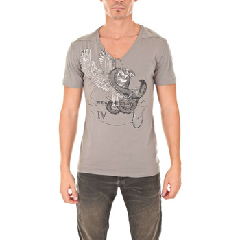 Vêtements Homme T-shirts manches courtes We Are Replay Tee Shirt Mc  Taupe Taupe