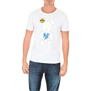 Vêtements Homme T-shirts manches courtes Art Toy Tee Shirt Mc Teams Ny  Blanc Blanc