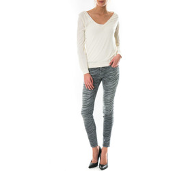 Vêtements Femme Jeans slim Current Elliott Jeans The Ankle Skinny  Gris Gris