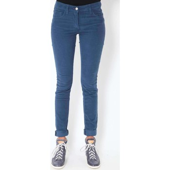 Vêtements Femme Jeans slim Was Jeans Kate  Bleu Bleu