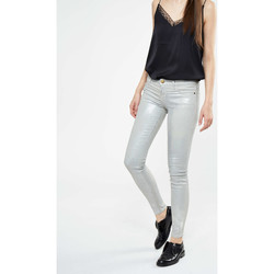 Vêtements Femme Jeans slim Current Elliott Jeans The Ankle Skinny  Gris Metalise Gris