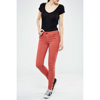 Vêtements Femme Jeans slim Black Orchid Jeans Jewel  Rouille Orange