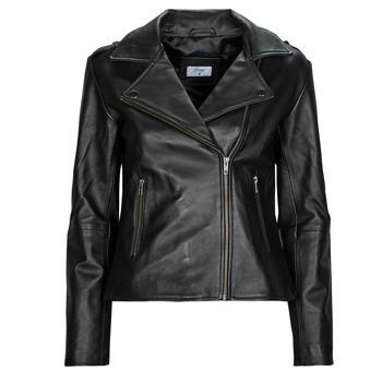 Vêtements Femme Vestes en cuir / synthétiques Betty London IGADITE Noir