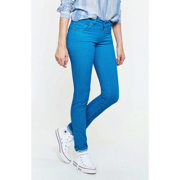 Vêtements Femme Jeans slim 7 for all Mankind Jeans Cristen  Bleu Bleu