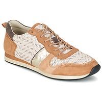 Chaussures Femme Baskets basses Bocage LANNY Cognac / Blanc