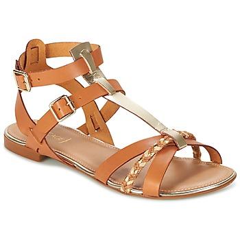 Chaussures Femme Sandales et Nu-pieds Bocage JARET Cognac