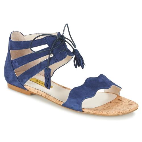 Chaussures Femme Sandales et Nu-pieds Bocage JARED Marine