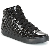 Chaussures Fille Baskets montantes Geox J KALISPERA G.F Noir