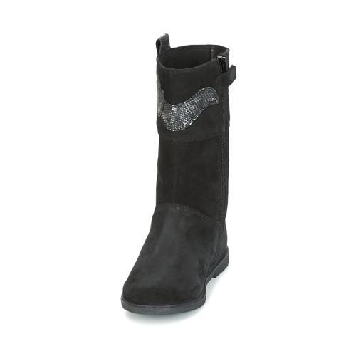 Noir J GC Ville Chaussures Geox Shawntel Fille Bottes 3q5Rj4LA