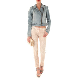 Vêtements Femme Jeans slim Was Jeans Norma  Beige Rose Beige