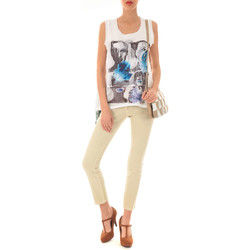 Vêtements Femme Jeans slim Was Jeans Bb  Beige Beige