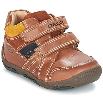 Chaussures Garçon Baskets basses Geox B N.BALU' B. B Marron