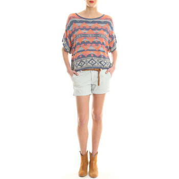 Vêtements Femme Shorts / Bermudas Meltin'pot Short Mbw004  Gris Clair Gris
