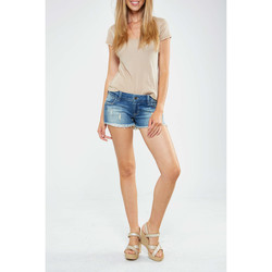 Vêtements Femme Shorts / Bermudas Siwy Denim Short Camilla  Bleu Bleu