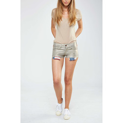 Vêtements Femme Shorts / Bermudas Rockstar Short Rsw355  Or Dore