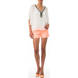 Vêtements Femme Shorts / Bermudas Was Short Nine  Saumon Corail