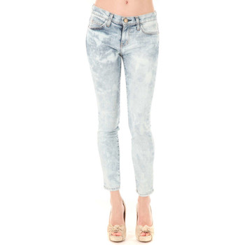 Vêtements Femme Jeans slim Current Elliott Jeans The Stiletto Current Elliot Bleu Delave Bleu