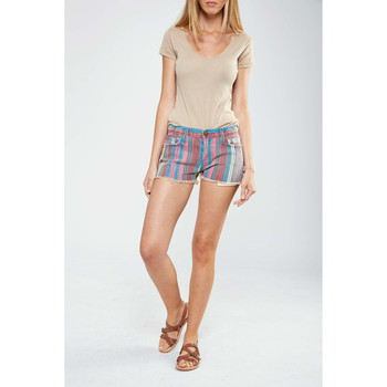 Vêtements Femme Shorts / Bermudas Current Elliott Short The Boyfriend  Multicouleurs Multicolor