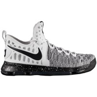 Chaussures Homme Baskets basses Nike Zoom KD 9 Blanc-Noir-Gris