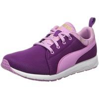 Chaussures Fille Baskets basses Puma 189184 violet