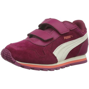 Chaussures Fille Baskets basses Puma 361583 rose