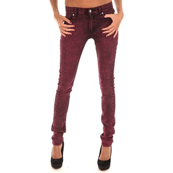 Vêtements Femme Jeans slim Cheap Monday Jeans Tight Bordeaux Bordeaux
