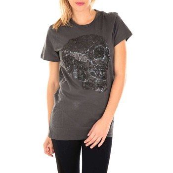 Vêtements Femme T-shirts manches courtes Religion Tee Shirt Mc Bling  Anthracite Anthracite