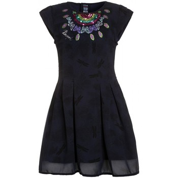Vêtements Fille Robes courtes Desigual Robe Victoria Navy 71V32E1 Bleu