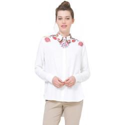 Vêtements Femme Tuniques Desigual Chemise Femme Yes Crudo Blanc 71C2YH1 1