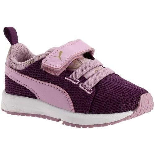 Chaussures Fille Baskets basses Puma 189186 violet