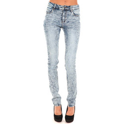 Vêtements Femme Jeans slim Cheap Monday Jeans Tight Bleu Delave Bleu