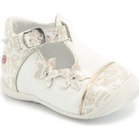 Chaussures Fille Ballerines / babies GBB Babies MARILOU  blanc-imprime blanc
