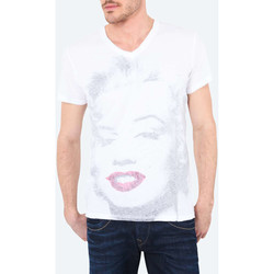 T-shirts manches courtes Pepe jeans Tee Shirt Mc Indy  Blanc