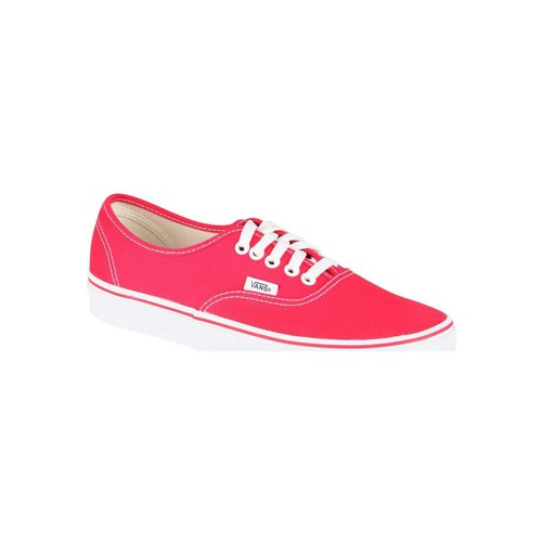 Chaussures Homme Baskets basses Vans Chaussures Homme Basses Authentic  Rouge Rouge