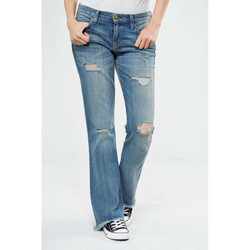 Vêtements Femme Jeans bootcut Current Elliott Jeans The Flip Flop  Bleu Use Bleu