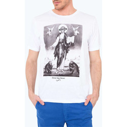 Vêtements Homme T-shirts manches courtes French Kick Tee Shirt Mc Jesus  Blanc Blanc