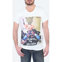 Vêtements Homme T-shirts manches courtes Freesoul Tee Shirt Mc Tom  Ecru Ecru