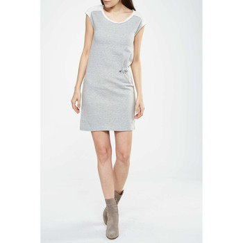 Vêtements Femme Robes courtes Freesoul Robe Mimosa  Gris Gris