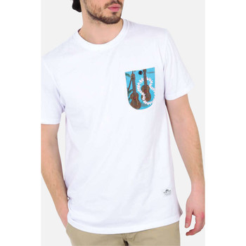 T-shirts manches courtes Penfield Tee Shirt Mc Roseland  Blanc
