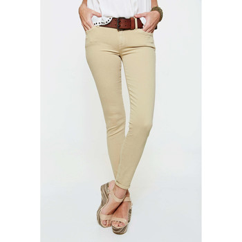 Vêtements Femme Jeans slim 7 for all Mankind Jeans The Skinny  Beige Beige