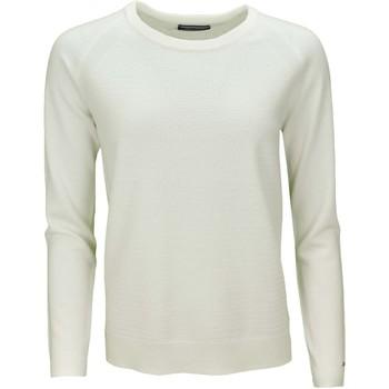 Vêtements Femme Pulls Tommy Hilfiger Pull col rond  Gianna blanc pour femme Blanc
