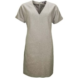 Vêtements Femme Robes courtes Tommy Hilfiger Robe manches courtes  Pia grise pour femme Gris