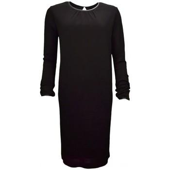 Vêtements Femme Robes Tommy Hilfiger Robe manches longues  Jahia noire pour femme Noir