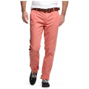 Pantalon Mcgregor Chino rose Ryan Dunn pour homme