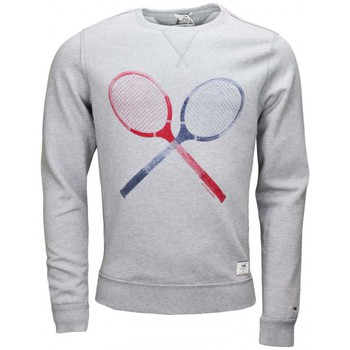 Vêtements Homme Sweats Tommy Hilfiger Sweat col rond Tommy Hilfiger Dénim Heather gris pour homme Gris
