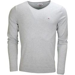 Vêtements Homme Pulls Tommy Hilfiger Pull col V Tommy Hilfiger Dénim Original gris pour homme Gris